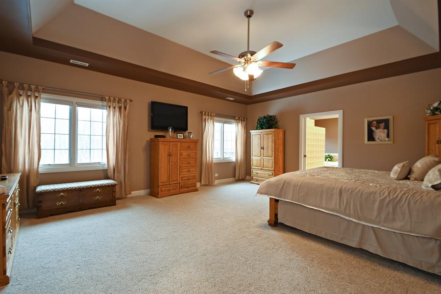 Real Estate Photography - 20163 Alison Trail, Mokena, IL, 60448 - Master Bedroom