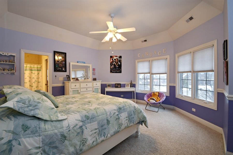 Real Estate Photography - 20163 Alison Trail, Mokena, IL, 60448 - 2nd Bedroom