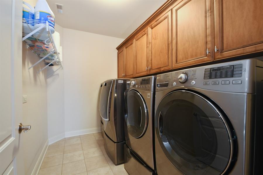 Real Estate Photography - 20163 Alison Trail, Mokena, IL, 60448 - Laundry Room