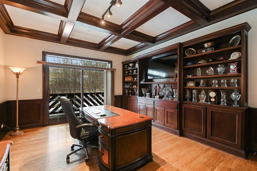 Real Estate Photography - 20163 Alison Trail, Mokena, IL, 60448 - Office