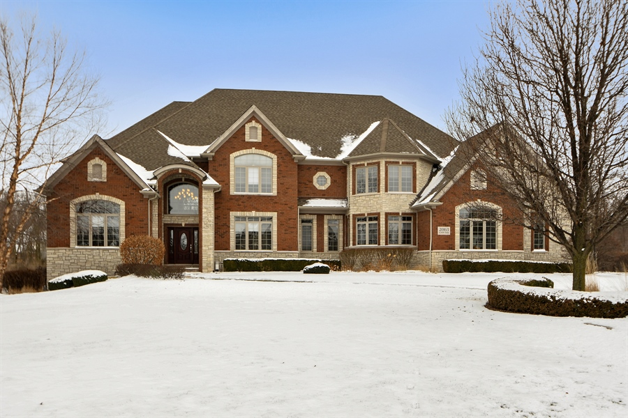 Real Estate Photography - 20163 Alison Trail, Mokena, IL, 60448 - Front View