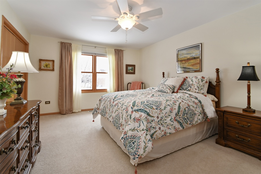 Real Estate Photography - 870 LAUREL BAY Drive, New Lenox, IL, 60451 - Master Bedroom