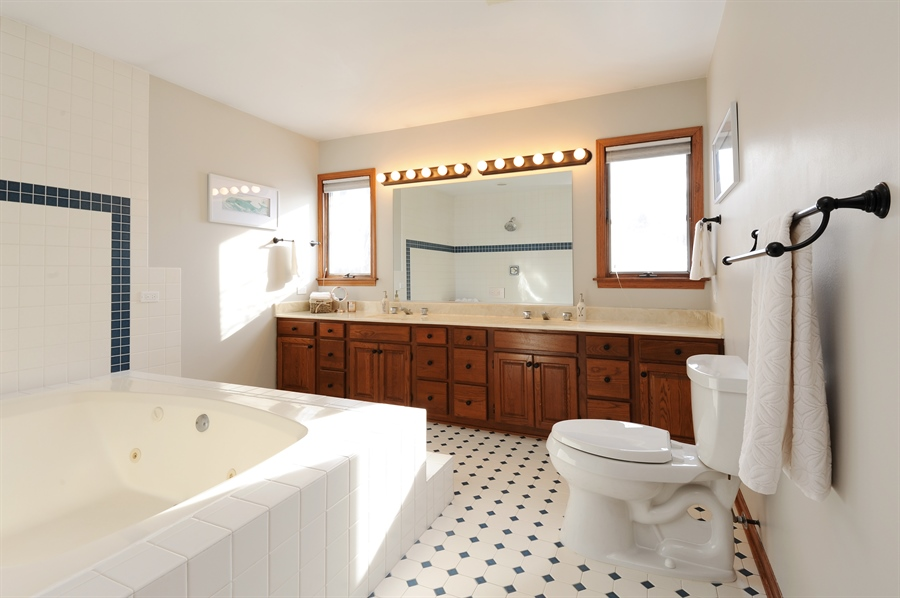 Real Estate Photography - 23862 W. Bayview Road, Antioch, IL, 60002 - Master Bathroom