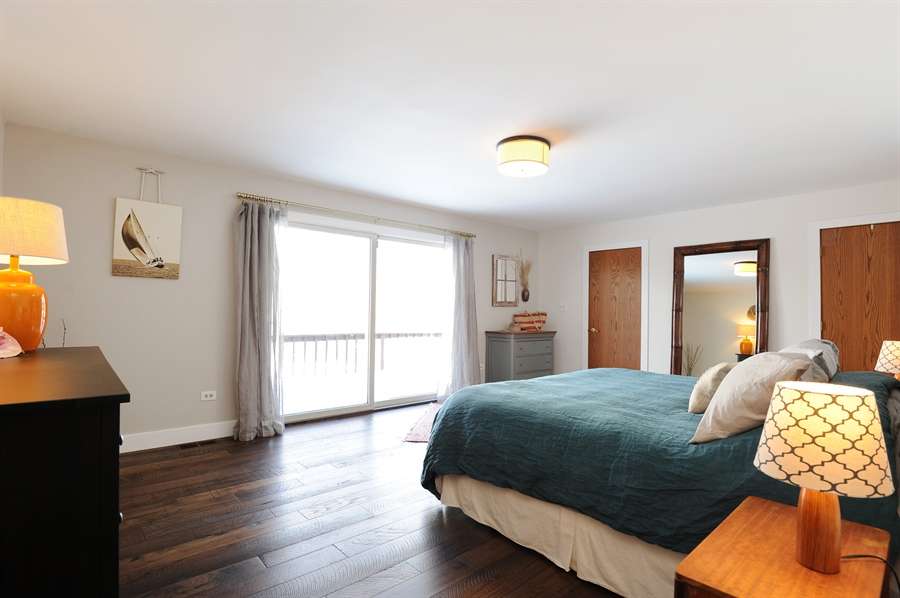 Real Estate Photography - 23862 W. Bayview Road, Antioch, IL, 60002 - Master Bedroom