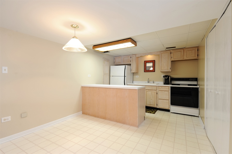 Real Estate Photography - 23862 W. Bayview Road, Antioch, IL, 60002 - Second Kitchen and Eating Area
