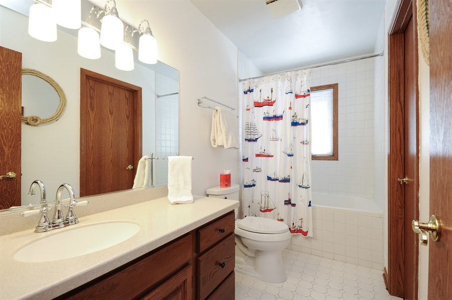 Real Estate Photography - 23862 W. Bayview Road, Antioch, IL, 60002 - Second Bathroom