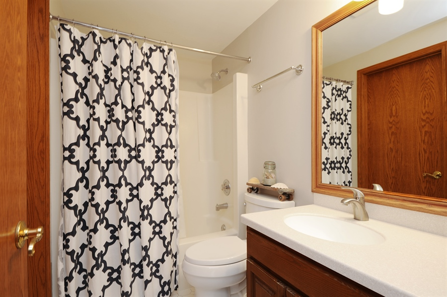 Real Estate Photography - 23862 W. Bayview Road, Antioch, IL, 60002 - Third Bathroom