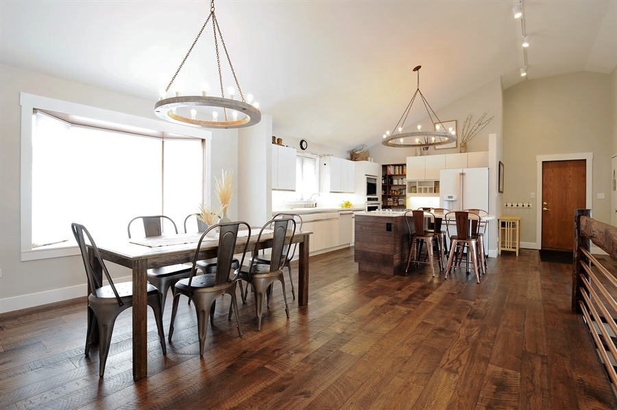 Real Estate Photography - 23862 W. Bayview Road, Antioch, IL, 60002 - Kitchen / Dining Room