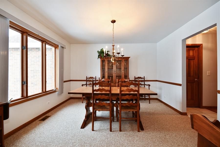 Real Estate Photography - 1660 Fox Trail Drive, Batavia, IL, 60510 - Dining Room