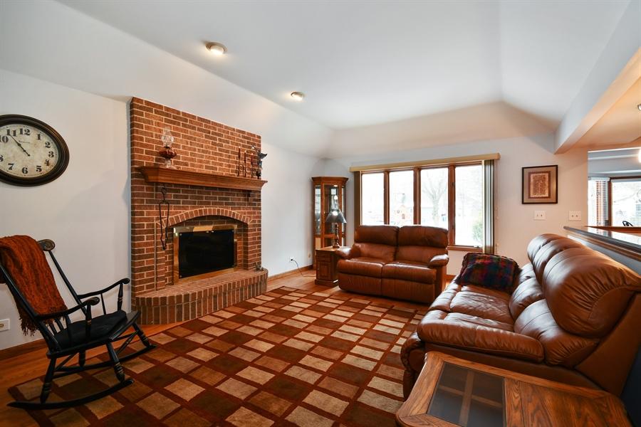 Real Estate Photography - 1660 Fox Trail Drive, Batavia, IL, 60510 - Family Room