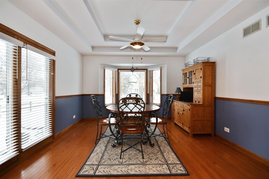 Real Estate Photography - 1660 Fox Trail Drive, Batavia, IL, 60510 - Breakfast Nook
