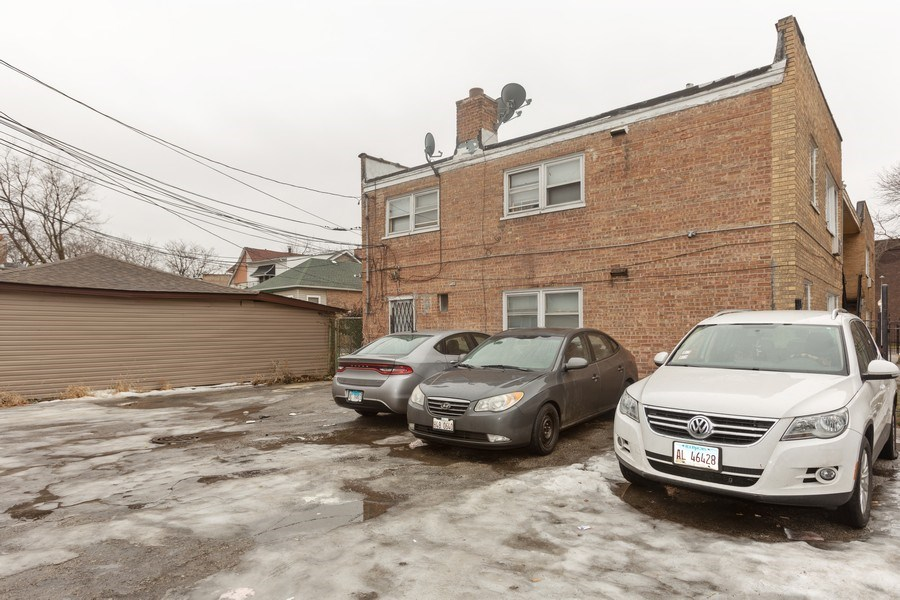 Real Estate Photography - 1436 East 73Rd St, Chicago, IL, 60619 - Rear View