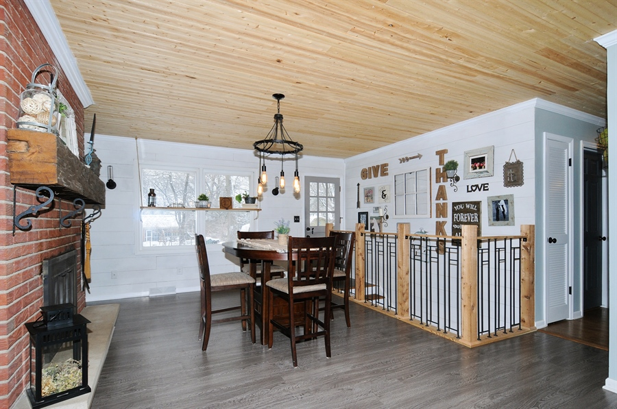 Real Estate Photography - 43W850 Nottingham Drive, Elburn, IL, 60119 - Dining Room