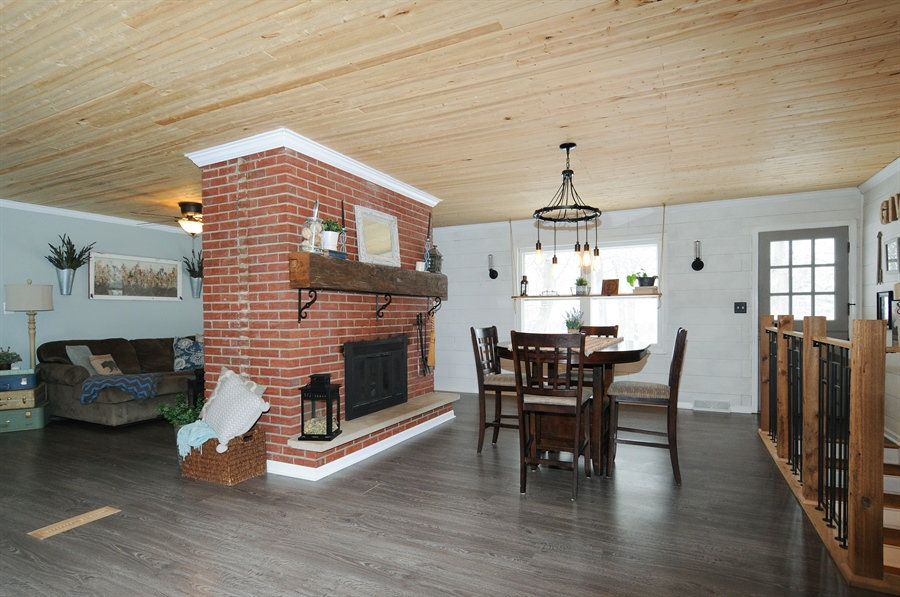 Real Estate Photography - 43W850 Nottingham Drive, Elburn, IL, 60119 - Family Room / Dining Room