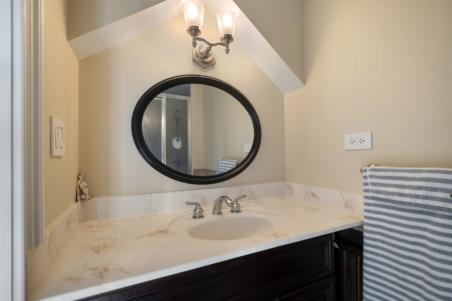 Real Estate Photography - 258 Lagoon Drive, Northfield, IL, 60093 - Bathroom