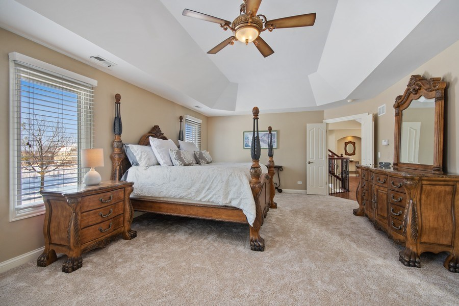 Real Estate Photography - 2219 Kane Lane, Batavia, IL, 60510 - Master Bedroom