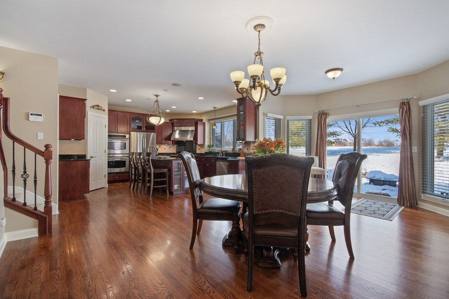 Real Estate Photography - 2219 Kane Lane, Batavia, IL, 60510 - Kitchen / Breakfast Room