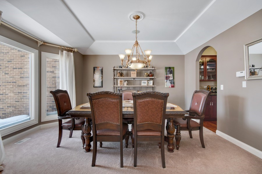 Real Estate Photography - 2219 Kane Lane, Batavia, IL, 60510 - Dining Room
