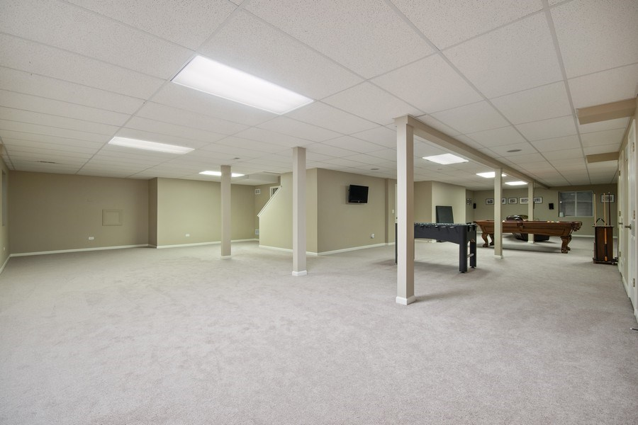 Real Estate Photography - 2219 Kane Lane, Batavia, IL, 60510 - Basement