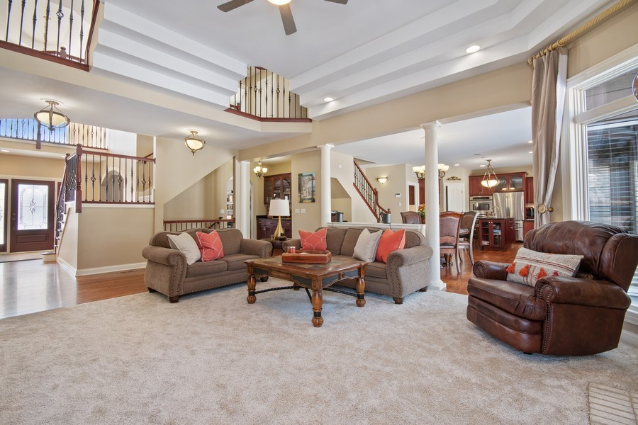 Real Estate Photography - 2219 Kane Lane, Batavia, IL, 60510 - Family Room