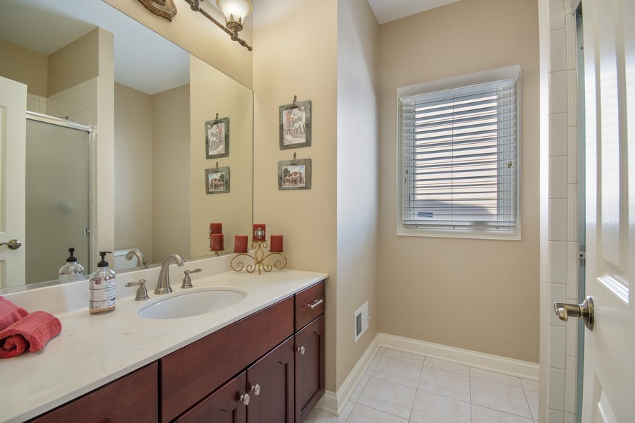 Real Estate Photography - 2219 Kane Lane, Batavia, IL, 60510 - 1st Floor Full Bath