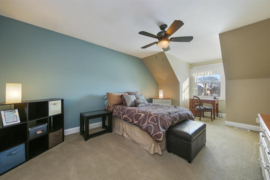 Real Estate Photography - 2907 Nicole Drive, Naperville, IL, 60564 - Bedroom Three