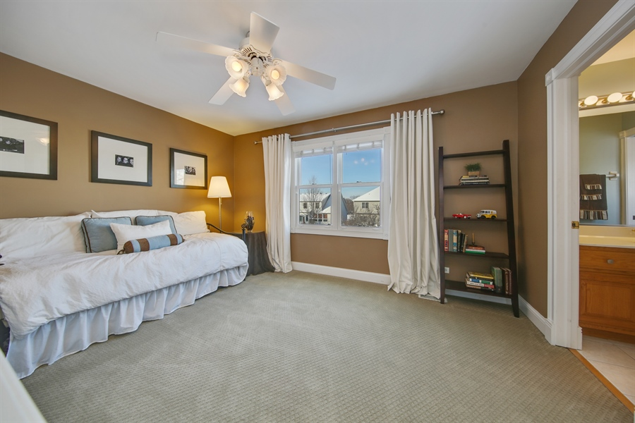 Real Estate Photography - 2907 Nicole Drive, Naperville, IL, 60564 - Bedroom Four