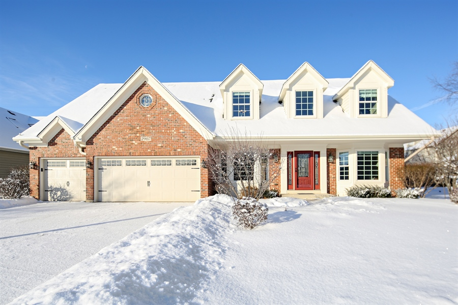 Real Estate Photography - 2907 Nicole Drive, Naperville, IL, 60564 - Front View