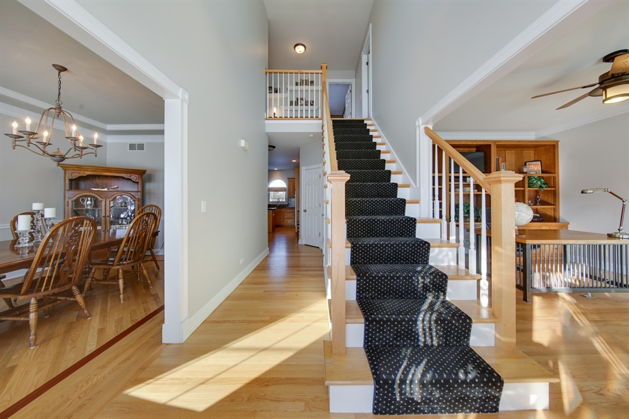 Real Estate Photography - 2907 Nicole Drive, Naperville, IL, 60564 - Foyer