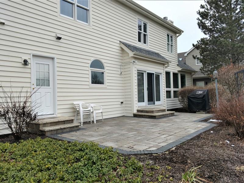 Real Estate Photography - 2907 Nicole Drive, Naperville, IL, 60564 - Paver Patio