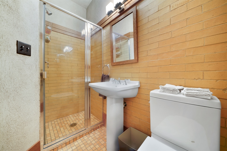 Real Estate Photography - 336 Coonley Road, Riverside, IL, 60546 - 3rd Bathroom