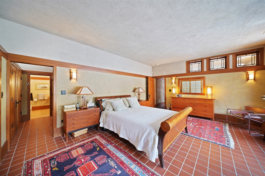 Real Estate Photography - 336 Coonley Road, Riverside, IL, 60546 - Master Bedroom