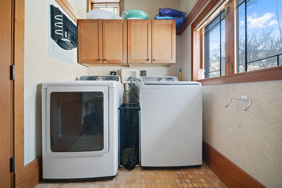 Real Estate Photography - 336 Coonley Road, Riverside, IL, 60546 - Laundry Room