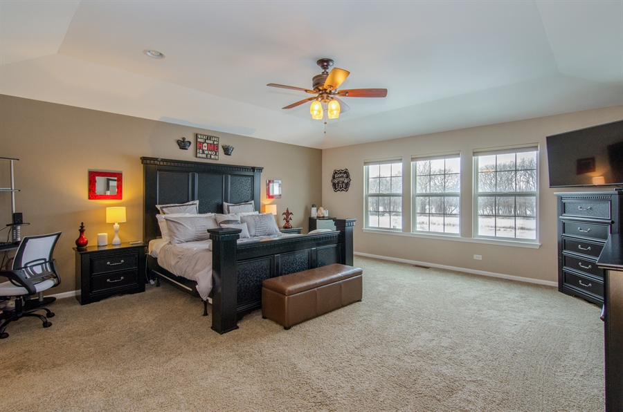 Real Estate Photography - 758 Goodfield Landing, Elgin, IL, 60124 - Master Bedroom