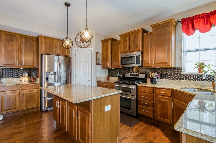 Real Estate Photography - 758 Goodfield Landing, Elgin, IL, 60124 - Double Oven, Corner Sink, Walk-in Pantry & MORE!