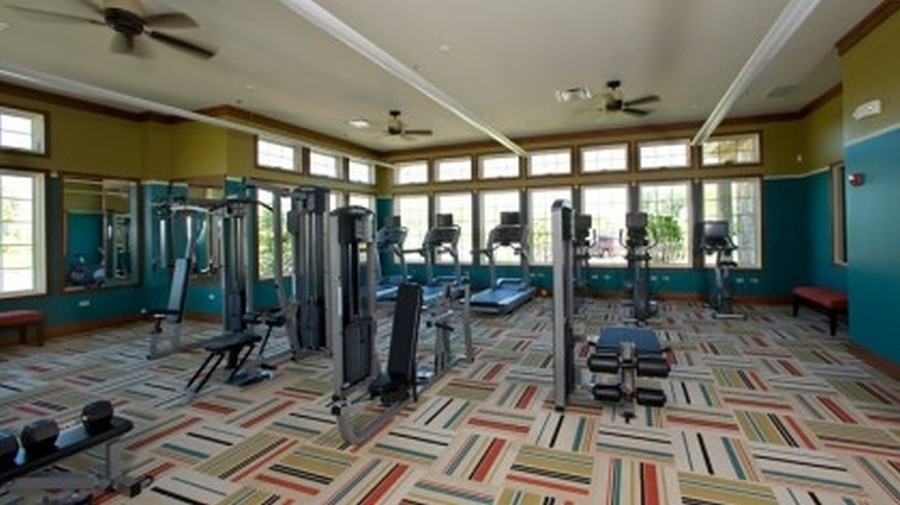 Real Estate Photography - 758 Goodfield Landing, Elgin, IL, 60124 - Fitness Center