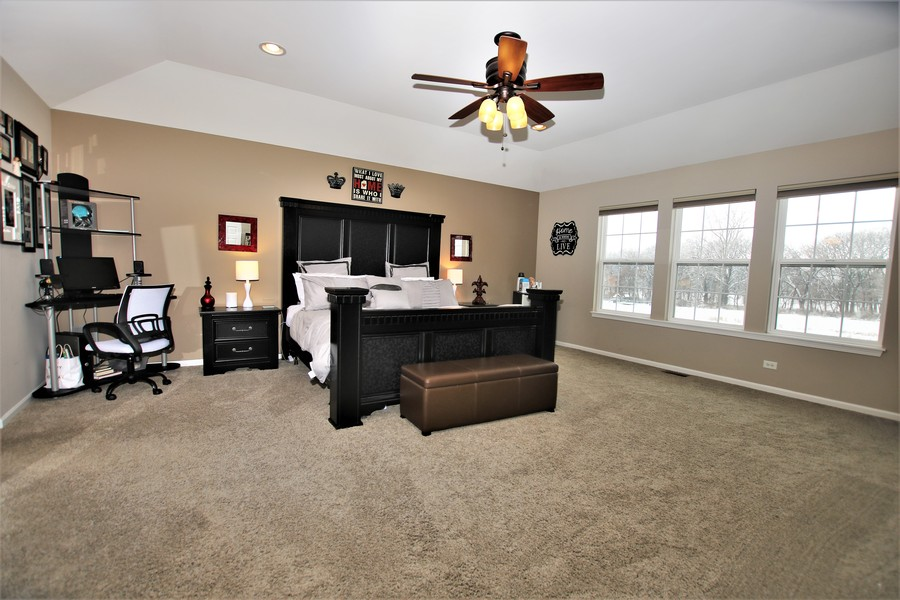 Real Estate Photography - 758 Goodfield Landing, Elgin, IL, 60124 - Master Suite with Impressive Views!