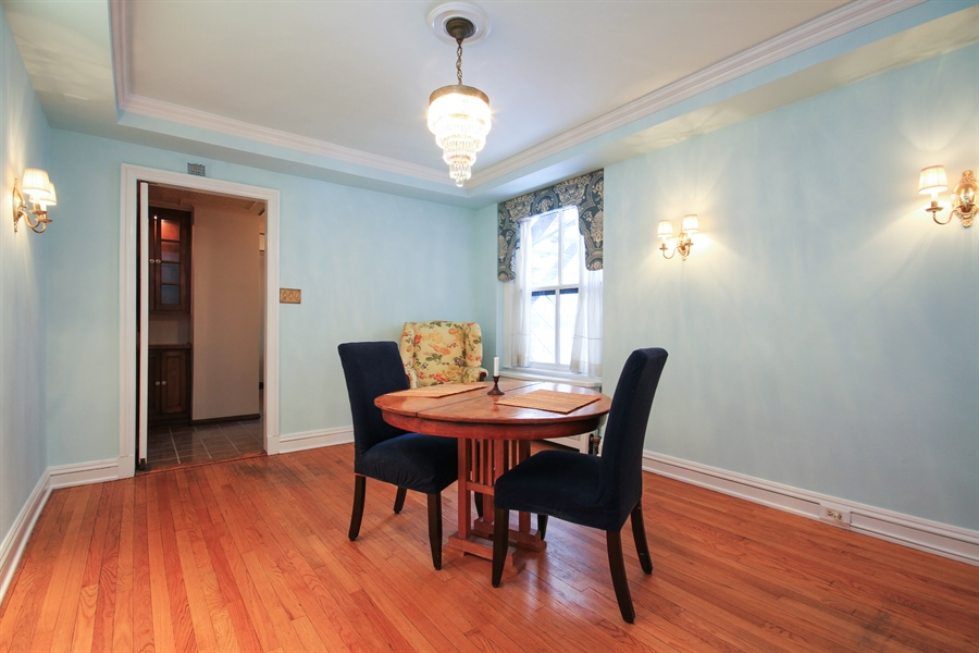 Real Estate Photography - 210 East Pearson St, 9D, Chicago, IL, 60611 - Dining Room