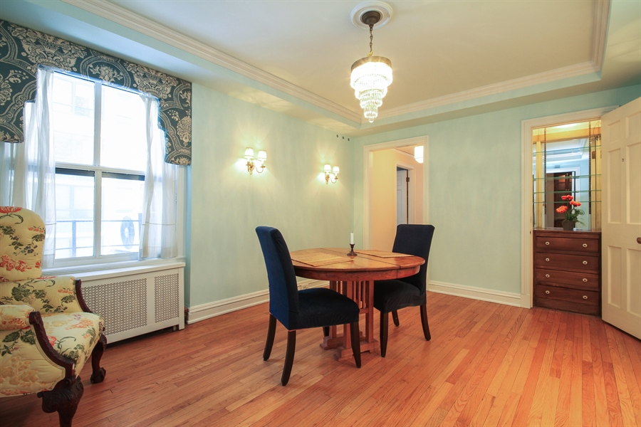 Real Estate Photography - 210 East Pearson St, 9D, Chicago, IL, 60611 - Dining Area
