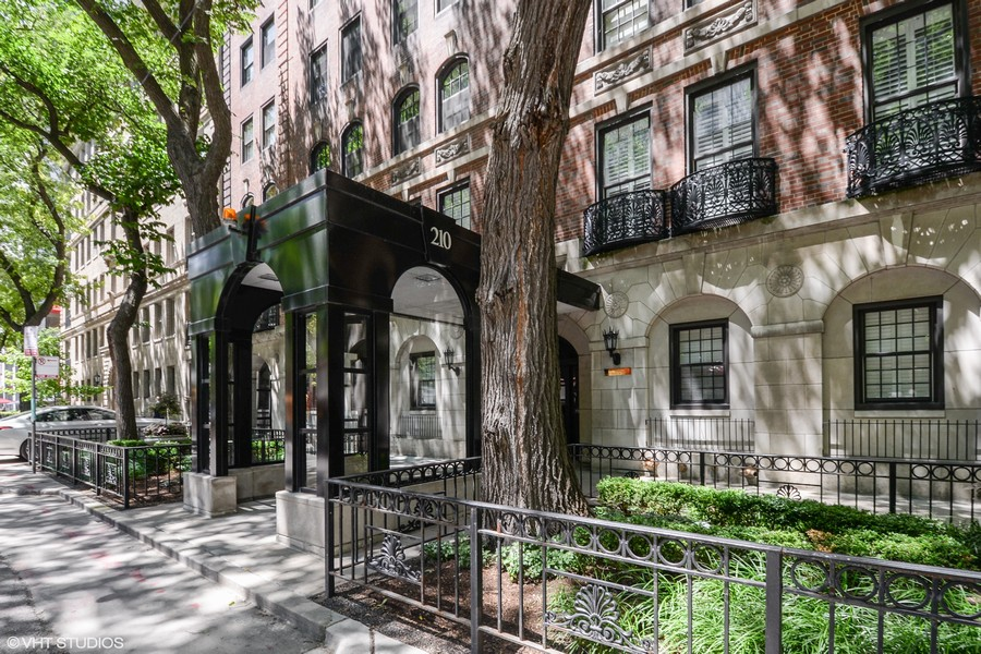 Real Estate Photography - 210 East Pearson St, 9D, Chicago, IL, 60611 - Front View