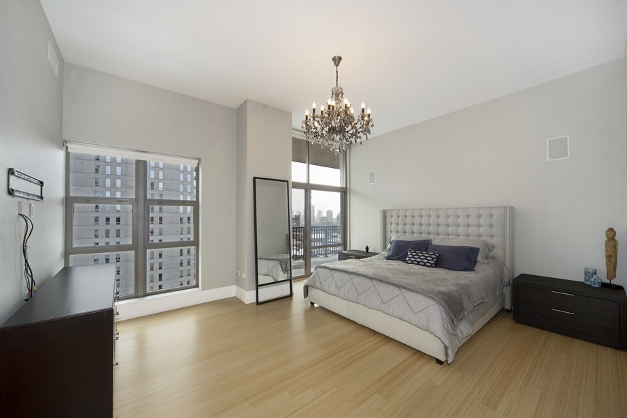 Real Estate Photography - 1035 N. DEARBORN Street, Unit 20, Chicago, IL, 60610 - Master Bedroom