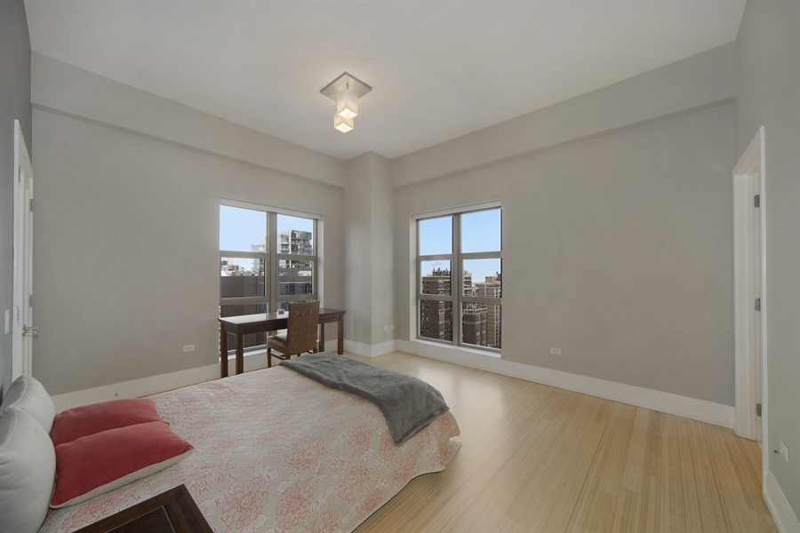 Real Estate Photography - 1035 N. DEARBORN Street, Unit 20, Chicago, IL, 60610 - 3rd Bedroom