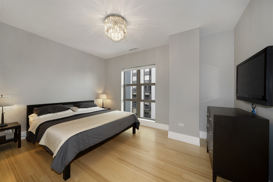 Real Estate Photography - 1035 N. DEARBORN Street, Unit 20, Chicago, IL, 60610 - 2nd Bedroom