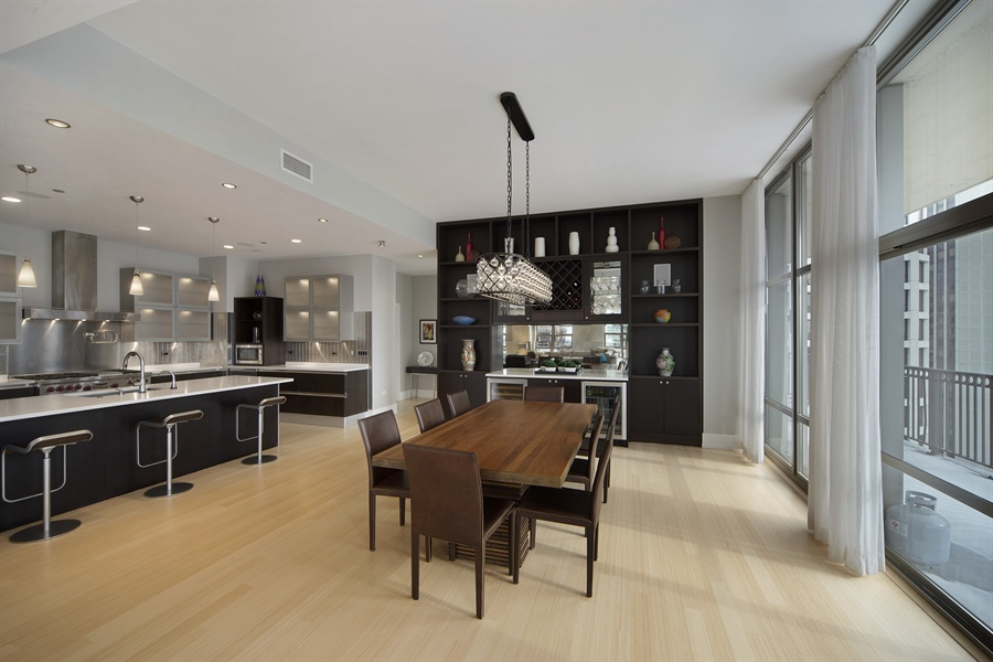 Real Estate Photography - 1035 N. DEARBORN Street, Unit 20, Chicago, IL, 60610 - Family Room
