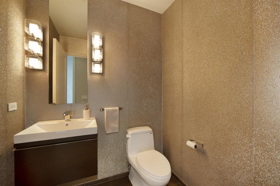 Real Estate Photography - 1035 N. DEARBORN Street, Unit 20, Chicago, IL, 60610 - Half Bath