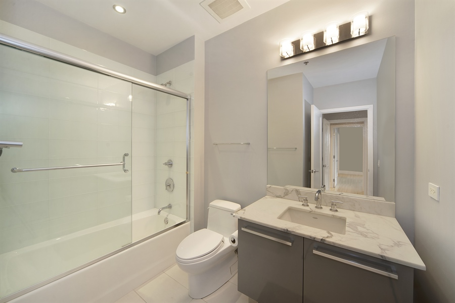 Real Estate Photography - 1035 N. DEARBORN Street, Unit 20, Chicago, IL, 60610 - Bathroom