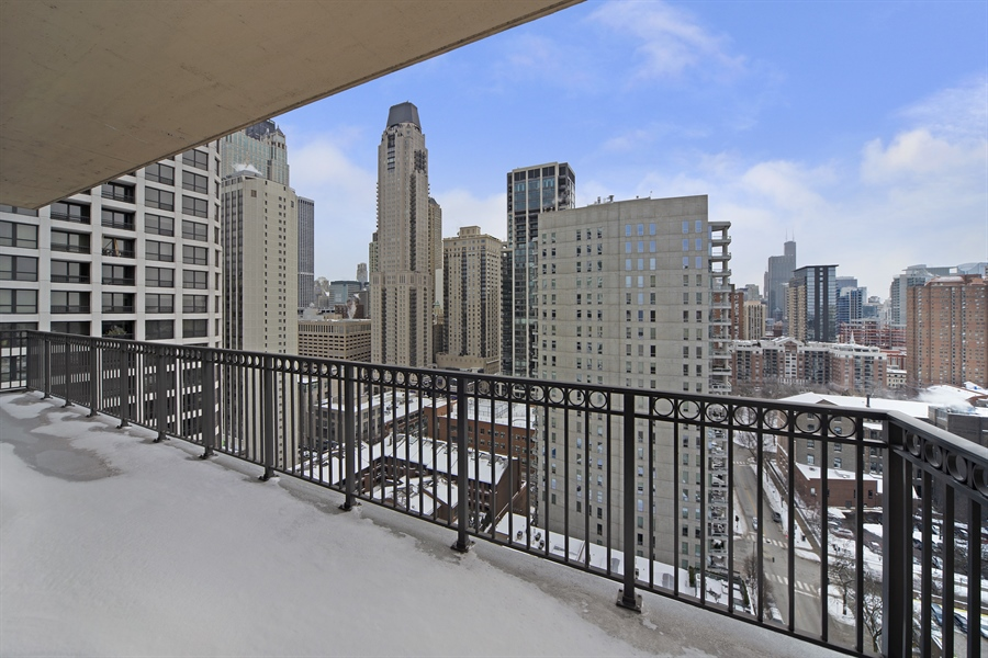Real Estate Photography - 1035 N. DEARBORN Street, Unit 20, Chicago, IL, 60610 - Balcony