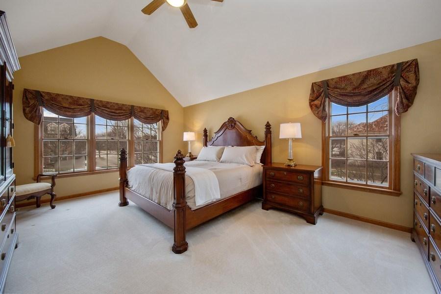 Real Estate Photography - 1485 Wilmette Street, Wheaton, IL, 60187 - Master Bedroom