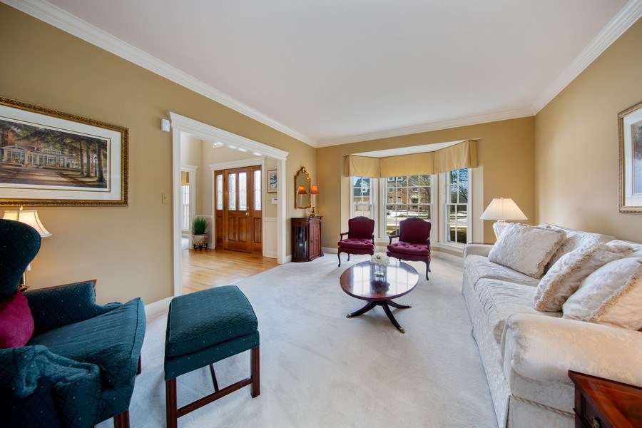 Real Estate Photography - 1485 Wilmette Street, Wheaton, IL, 60187 - Living Room