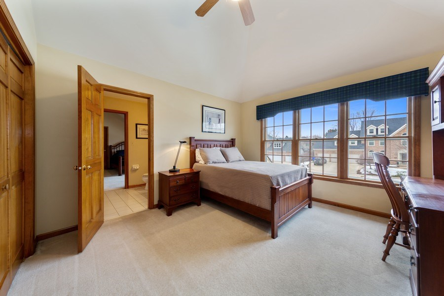 Real Estate Photography - 1485 Wilmette Street, Wheaton, IL, 60187 - 2nd Bedroom